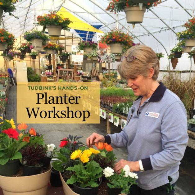 FREE Tudbink's Hands-on Planter Workshops