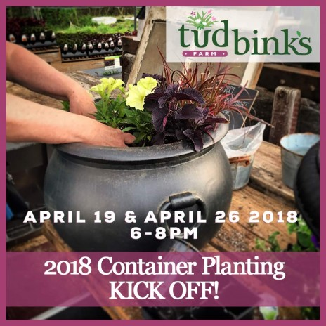 Container Planting Workshop: 2018 Season Kickoff