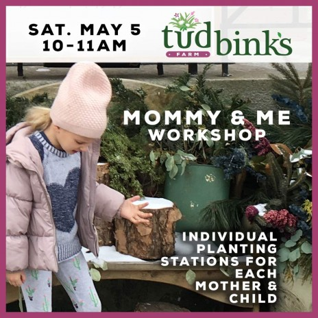 Workshop: Mommy and Me – Tudbink's style!