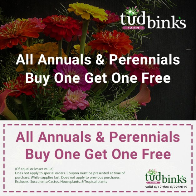 Annuals & Perennials Coupon