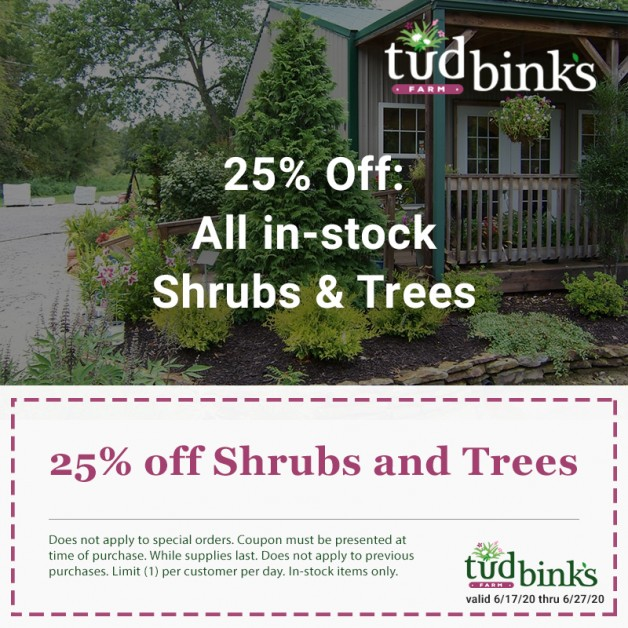 Trees & Shrubs Promotion